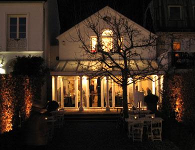 Restaurant Das Weisse Haus In Hamburg