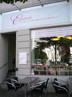 Cafe emmas in hamburg
